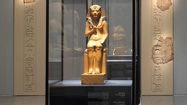 """מתוך תערוכת """"פרעה בכנען: הסיפור שלא סופר"""" המוצגת במוזיאון ישראל (צילום: אלי פוזנר) (צילום: אלי פוזנר)"""