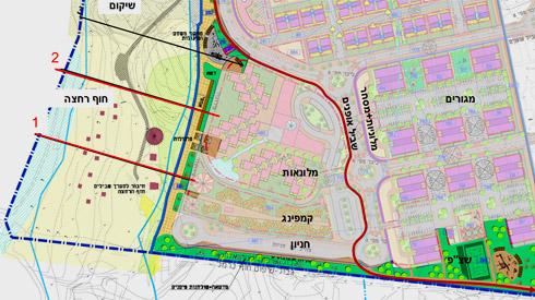 תוכנית הטיילת והשטחים הציבוריים הפתוחים בדרום ההרחבה המיועדת (תוכניות: רשות מקרקעי ישראל )