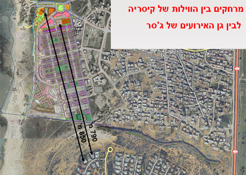 התוכנית מתייחסת בצורה ישירה לחששות של תושבי קיסריה (תוכניות: רשות מקרקעי ישראל )