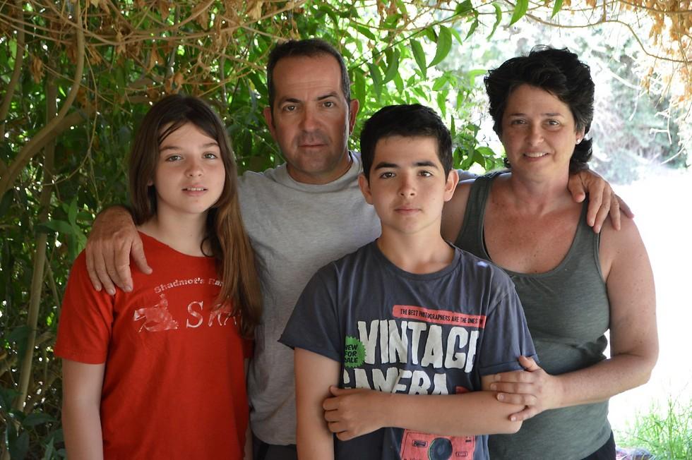 משפחת קלם (צילום עצמי) (צילום עצמי)