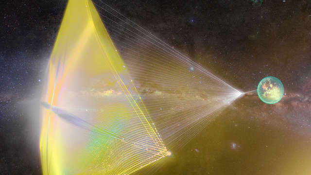 החלליות הזעירות של הוקינג (הדמיה: Breakthrough Starshot) (הדמיה: Breakthrough Starshot)