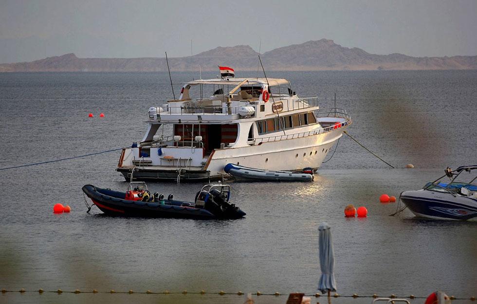 דגל מצרים יוחלף בדגל סעודיה? (צילום: AFP)