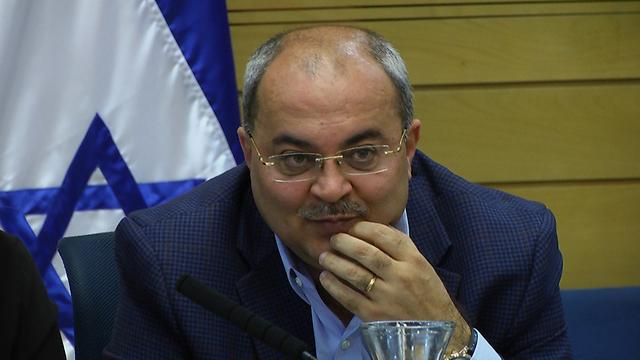 """ח""""כ טיבי: """"נשק הוא לא כלי המאבק של האזרחים הערבים"""" (צילום: אלי מנדלבאום) (צילום: אלי מנדלבאום)"""
