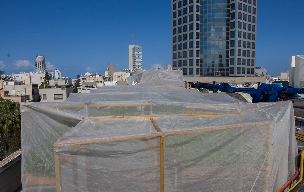 העולם הנסתר מן העין על גג דיזנגוף סנטר (צילום: עידו ארז) (צילום: עידו ארז)