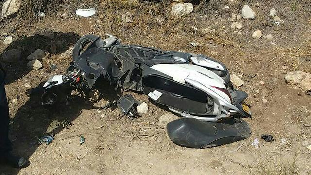 צומת עילוט, כביש 79 - מורה לנהיגה נפצע ()
