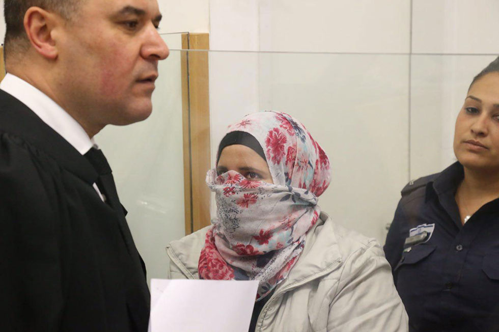 Shatila Abu Iydah indicted for stabbing attack in Rosh HaAyin (Photo: Motti Kimchi)