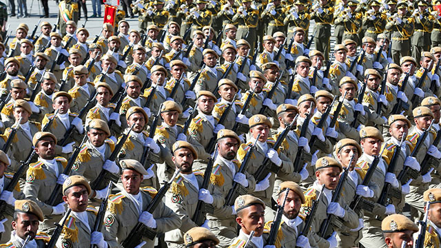 Iran's Revolutionary Guard will be hit by sanctions levied by US (Photo: AP)