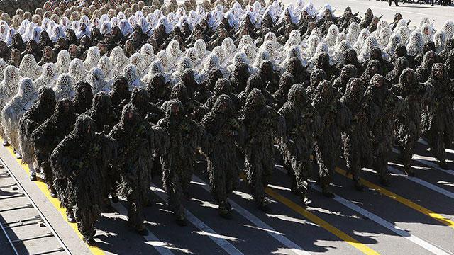 Спецназ КСИР. Фото: ЕРА (Photo: EPA)