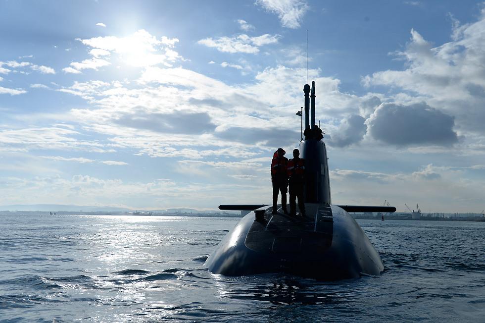 Navy submarine (Photo: IDF Spokesperson)