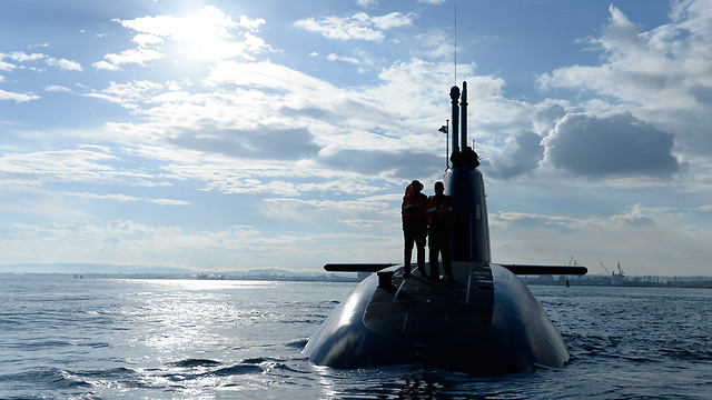 An IDF submarine (Photo: IDF Spokesperson)