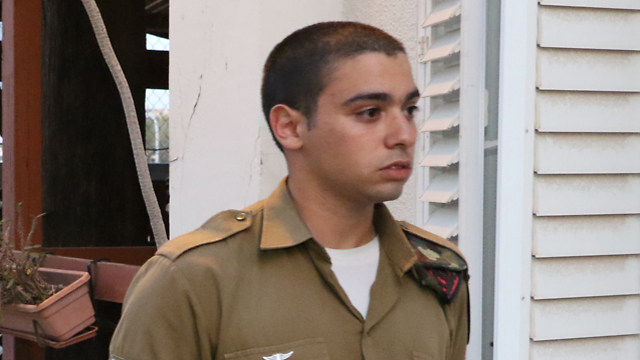 Sgt. Elor Azaria (Photo: Shaul Golan)
