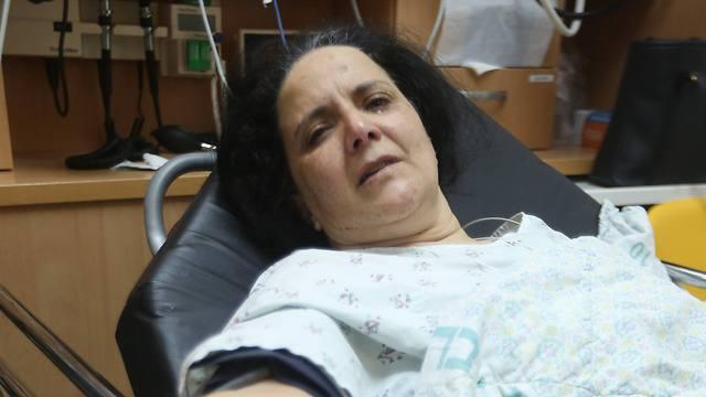 Racheli Dadon, injured in the bus attack (Photo: Gil Yohanan)