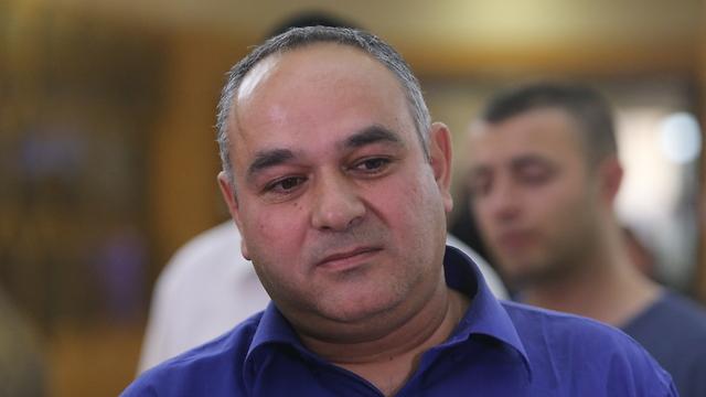 Moshe Levi, driver of the bus that got attacked (Photo: Alex Kolomoisky)