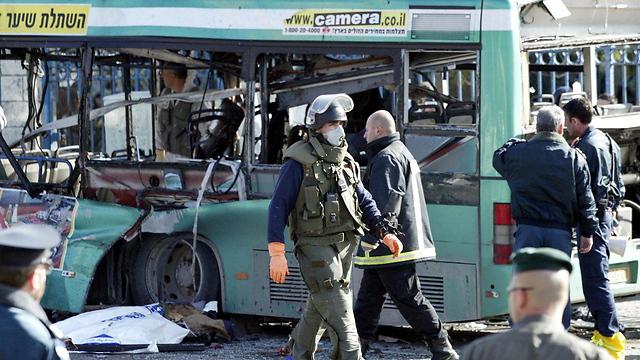 הפיגוע בירושלים, אתמול  (צילום: סבסטיאן שיינר) (צילום: סבסטיאן שיינר)