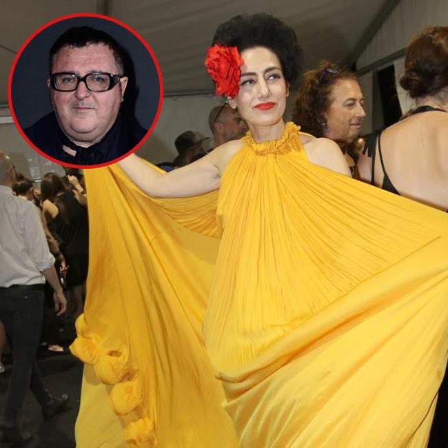 רונית אלקבץ בשמלה בלתי נשכחת של אלבר אלבז