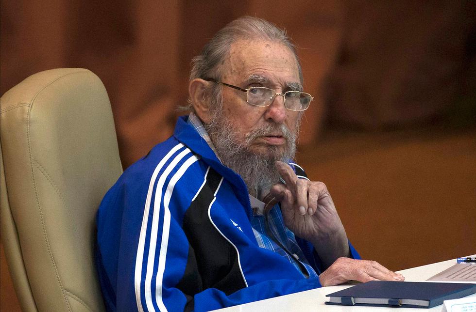 קסטרו, כפי שצולם השנה (צילום: AP) (צילום: AP)