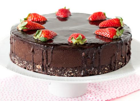 עוגת שוקולד לפסח (צילום: אולגה טוכשר)