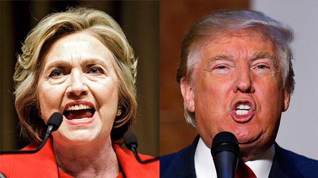 טראמפ נגד קלינטון. מי שונא נשים? (צילום: EPA) (צילום: EPA)