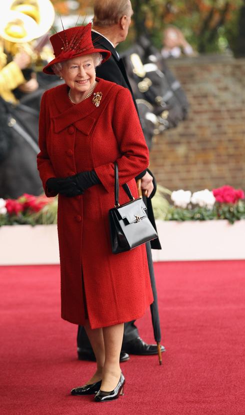 הדמות המכובדת והמבוגרת ברשימה. המלכה אליזבת השנייה, שחגגה השנה 90 (צילום: Gettyimages)
