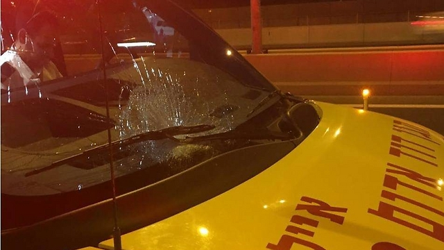 MDA ambulance stoned on Route 431