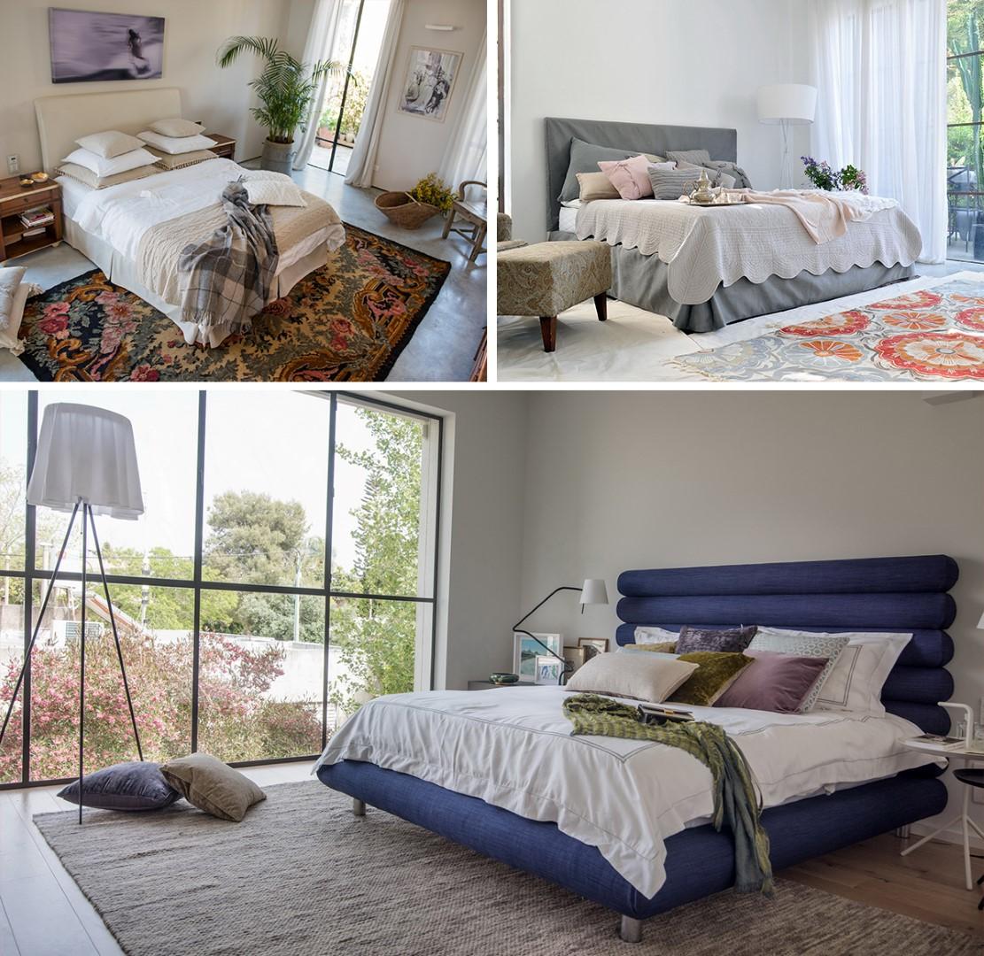 חדרי שינה אביביים של עמינח (צילום: גלעד רדט) (צילום: גלעד רדט)
