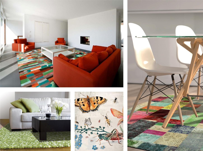 חללים פרחוניים לצמר שטיחים יפים ()