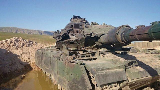 הטנק ששרד את פגיעת הטיל ()