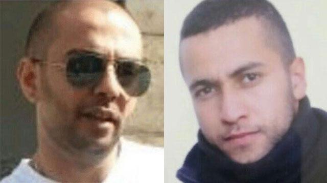 נרצחו בהפרש של שעתיים. מוחמד אגבארייה וחוסיין מחאג'נה ()