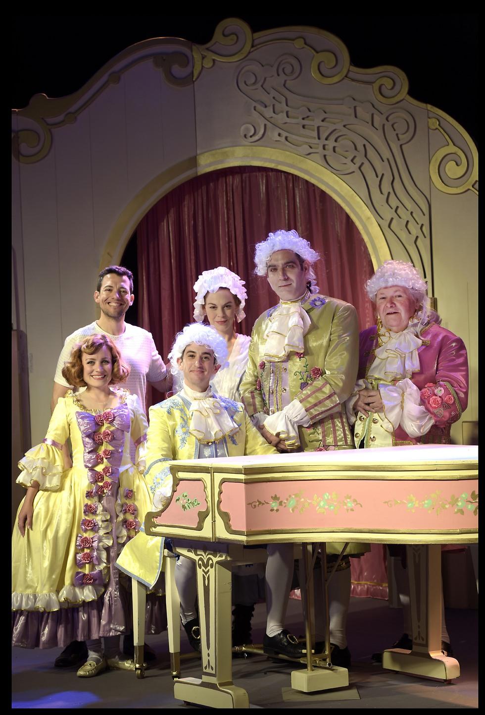 """""""הקסם של מוצרט"""" (צילום: יוסי צבקר)"""