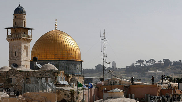 Temple Mount (Photo: AFP) (Photo: AFP)