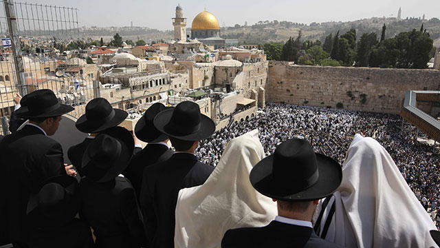 The holiest site in Judaism in Israel's capital, Jerusalem (Photo: AFP)