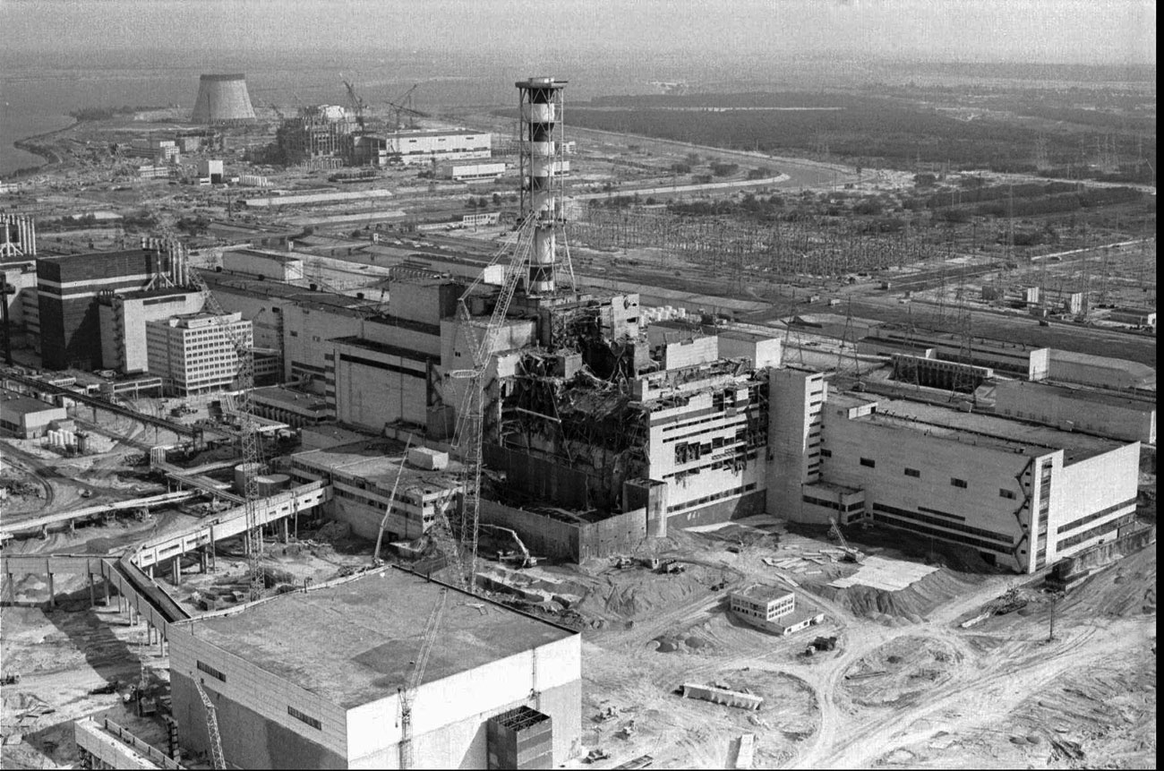 Чернобыльская АЭС, 1986 г. Фото: АР