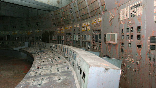 חדר בקרה בכור ההרוס (צילום: MCT) (צילום: MCT)