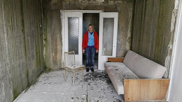 """""""לא ידעתי מה זה קרינה"""". אלנה קופריאנובה, 42 (צילום: רויטרס) (צילום: רויטרס)"""