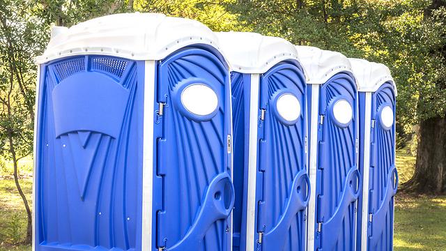 שירותים כימיים. ארכיון (צילום: shutterstock)