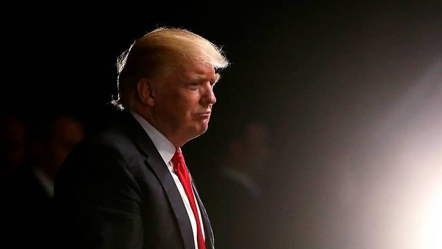 טראמפ, הלילה (צילום: רויטרס) (צילום: רויטרס)