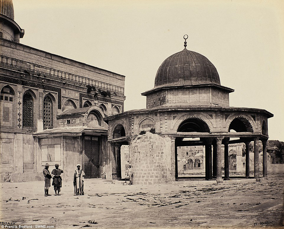 Mosque in Jerusalem (Photo: Bonfils/SWNS.com)