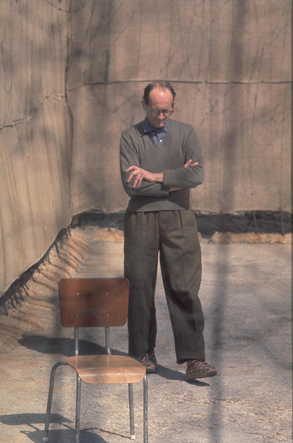 Eichmann dans une prison israélienne (Photo: GPO)