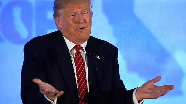 """""""המרוץ הרפובליקני גמור"""". טראמפ (צילום: AP) (צילום: AP)"""