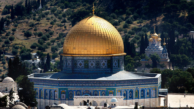 The Temple Mount (Photo: AP) (Photo: AP)
