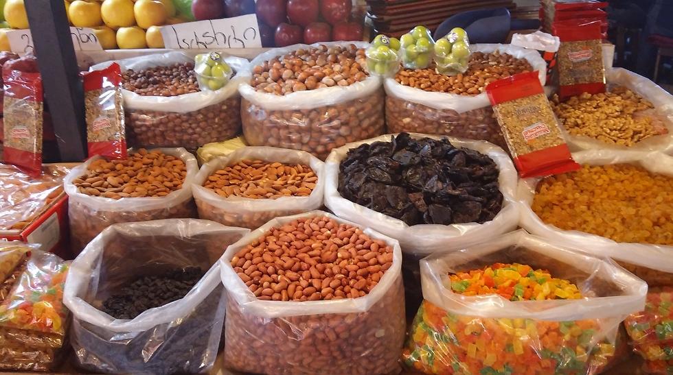 אגוזים וממתקים (צילום: מור אלזון) (צילום: מור אלזון)