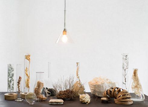חומרים טבעיים בסטודיו ''בילונגינג'' (צילום: לירון זנדמן)