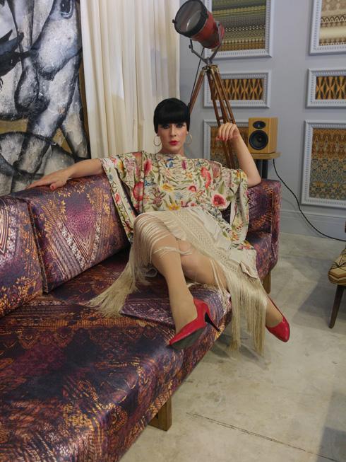 """""""טלולה היא אמנית דראג שמתלבשת תמיד יותר 'פאשן' ופחות דראג. זה משאיר את התלבושות על קו התפר בין נשי לתיאטרלי"""", אומר יוסף (צילום: שחף סגל )"""