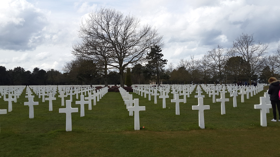 A cemetery in Normandy, France, for D-day casualties (file photo) (Photo: Rachel Kedars)