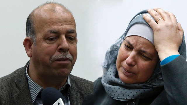 Hussein and Suha Abu Khdeir, the parents of the slain teen (Photo: AFP)