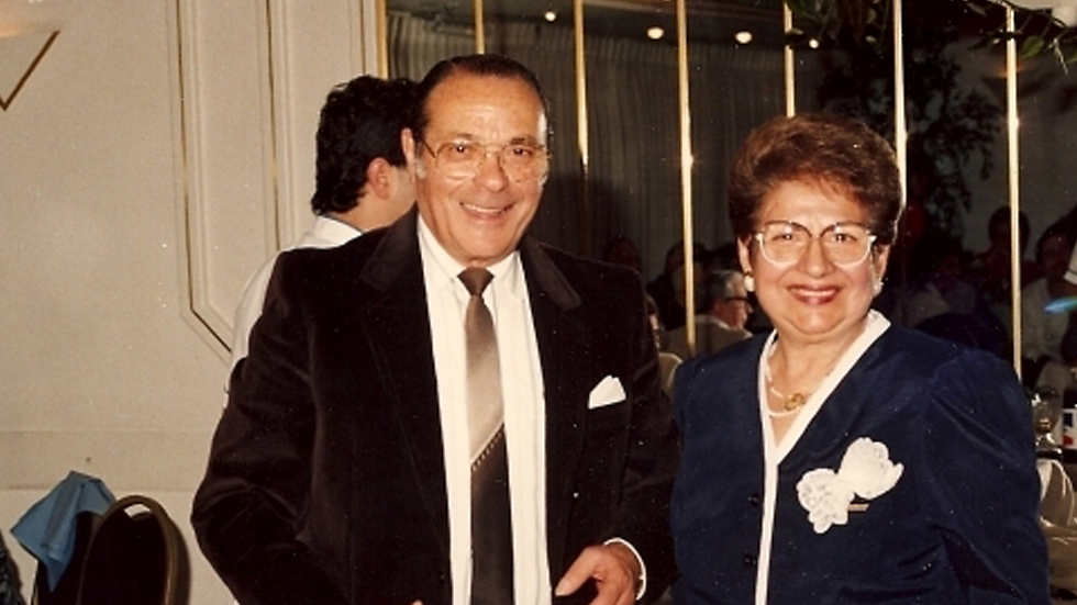 Gattegno and her husband (photo from Nata Gattegno's private collection)
