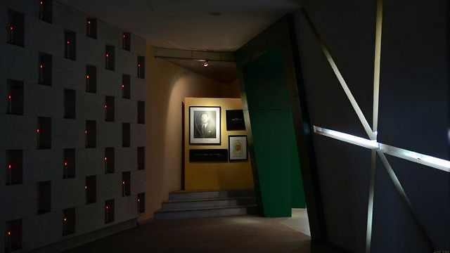 היכל ההנצחה לחייו ומעשיו מצילי החיים של פנגשאן במוזיאון בעיר ייאנג (צילום: (yin yingjie (jet yin) ()