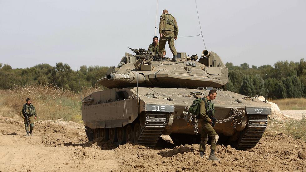 IDF tank (Photo:AFP)