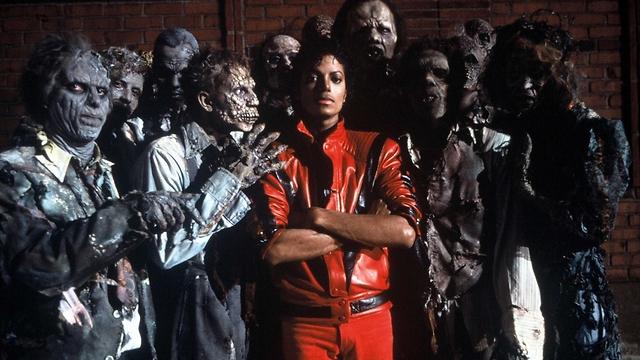 """מתוך הקליפ של """"Thriller"""". יצירת מופת של זומבים (צילום: gettyimages) (צילום: gettyimages)"""