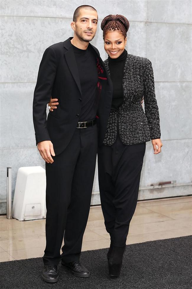 ג'נט ג'קסון ובעלה, וויסאם אל מאנה (צילום: gettyimages)